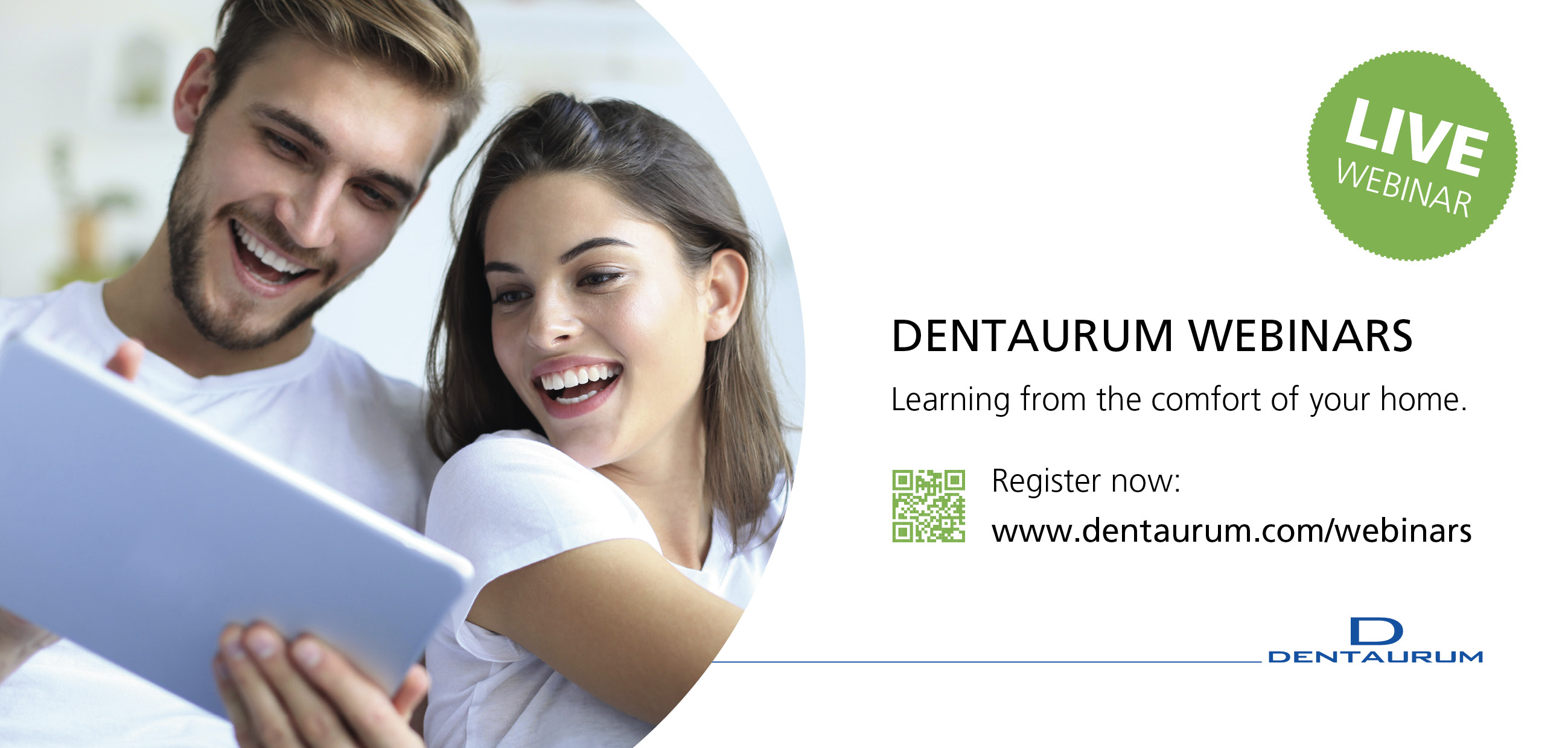 Distance training: Dentaurum extends its range of webinars