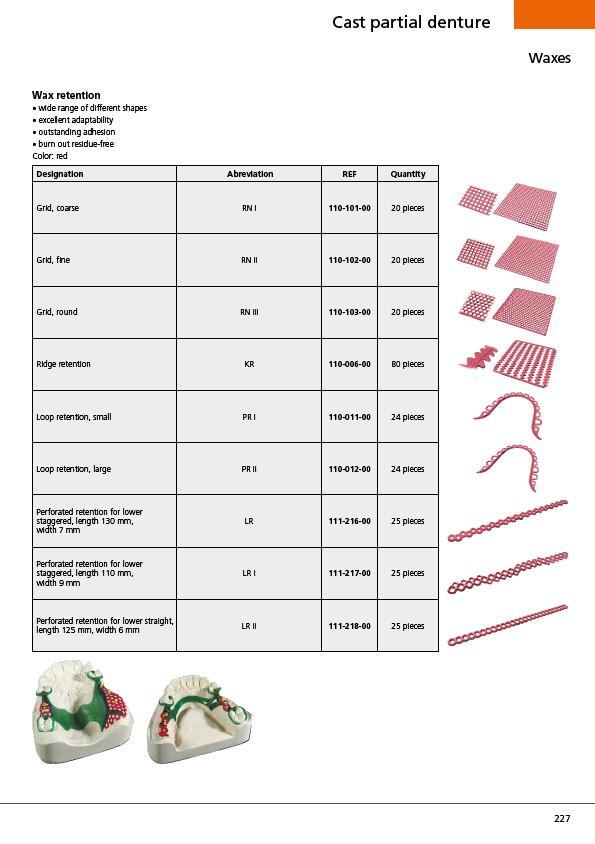Prosthetics Catalog Edition 23 - Page 229